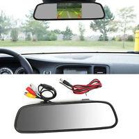 "5.0"" TFT LCD NTSC PAL Mirror 5.0inch Car Monitor Night Vision Parking Assist IT"