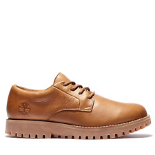 Timberland Mens Jackson's Landing Waterproof Oxford Light Brown Shoes (RRP £125)