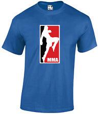 Diseño de logotipo de MMA T-Shirt MMA UFC Cage Fighter Mens tshit Tee