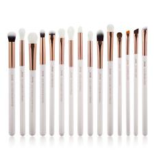 Jessup 15Pcs Pearl White/Rose Gold Professional Makeup Brushes Set Make up Brush