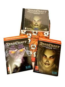 StarCraft Expansion Set Lot-includes: CD-ROM,Guides for STARCRAFT & BROOD WAR