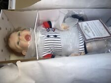 "Ashton-Drake Galleries ""Michael, The Little Slugger"" (100) Brand New"