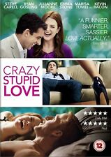Crazy, Stupid, Love (DVD, 2012) - Steve Carell, Ryan Gosling, Julianne Moore