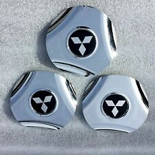 MITSUBISHI eclipse lancer CENTER CAPS TSW aftermarket prizm 15 CHROME