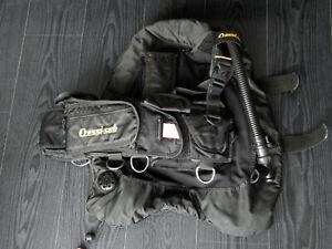 Black is beautiful: schönes Wingjacket von Cressi-sub, Größe M!
