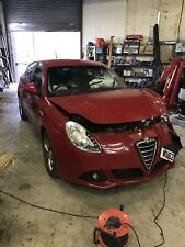 Alfa Romeo Giulietta Breaking Spares Repairs Salvage VR289 Red 1.6 Diesel