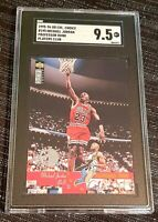 1995 Collector's Choice Player's Club #195 Michael Jordan SGC 9.5 ~ BGS Xover ~
