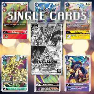 Digimon Card Game Booster Box Double Diamond BT6 Dash Pack Single Cards