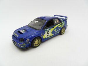 Subaru Impreza WRC Burns Reid #5 New Zealand Rally Altaya 1/43 Miniature