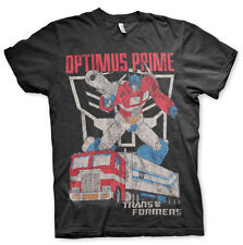 Officially Licensed Transformers Optimus Prime Distressed 3XL,4XL,5XL MenT-Shirt