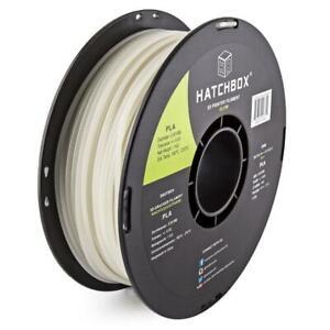 New HATCHBOX PLA 3D Printer Glow In The Dark Filament 1kg Spool