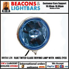 BRITAX L28.01.24v 8'' Blue Tinted Glass Driving Lamp with 'Angel eyes'