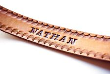 Personalized Leather Bookmark (Customized)