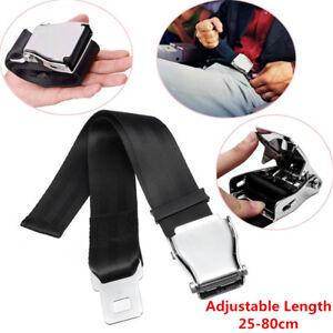 Adjustable Airplane Seat Belt Extender Extension Airline/Buckle Aircraft Safety