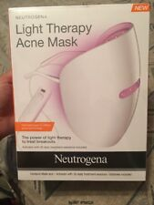 NEW Neutrogena Light Therapy Acne Treatment Mask Led Photon Facial