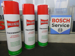 BALLISTOL Universalöl Spray 3 x 400 ml Kriechöl Waffenöl Öl 21810 Klever Schutz