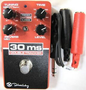 Used Keeley 30ms Double Tracker Delay Guitar Effects Pedal