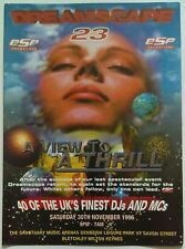 ESP Dreamscape 23 ~ A View To A Thrill @ The Sanctuary, 30/11/96 Rave Flyers