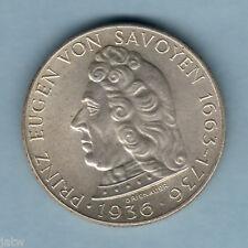 New listing Austria. 1936 2 Schillings. Von Savoyen. Unc