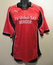Vtg PUMA 90s Football Shirt Retro Soccer Jersey Trikot Maglia Camisa Skjorte XL