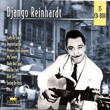 History Box by Django Reinhardt (CD, Jul-2000, Histr)