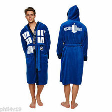 Doctor Dr Who Tardis Adult Unisex Dressing gown / bathrobe / robe (Mens fleece)