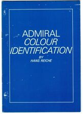 Admiral Color Identification By Hans Reiche