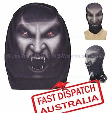 Halloween Fancy Dress Costume Party Mesh Stretch Face Mask Balaclava Wimpire