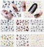 Nail Art Stickers Nail Art Water Decals Transfers Butterflies Butterfly
