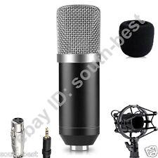 Pro BM700 Condenser Microphone for PC Laptop Broadcasting Studio Shock Mount