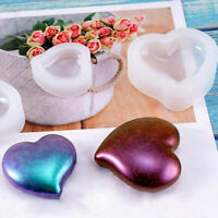 Heart Silicone Pendant Mold Jewellry Making Resin Mould Epoxy Casting Craft DIY