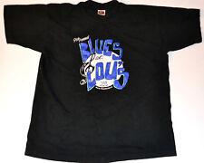 "Vintage ""Blues At Lou's"" 1996 San Francisco Blues Bar t-shirt XL Nice!"