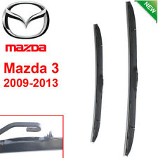 Pair Front Wndshield Windscreen Wiper blades for Mazda 3  BL 2009-2013