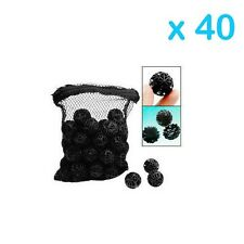 "2000 pcs Aquarium 1"" Bio Balls FREE Bag Filter Media Wet/Dry Koi Fish Pond Reef"