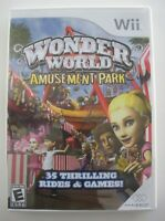 Wonder World Amusement Park - Nintendo Wii Game - Complete & Tested