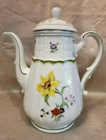 Heinrich Germany H & C White Floral Chambord Coffee or Teapot