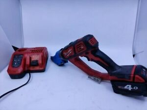 Milwaukee M18 BMS20-0 M18BMSM1 18v 2.0mm Plate Shears 1x 4.0Ah battery & Charger