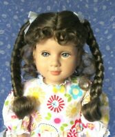 Monique RUBY Light Brown Full Adj. Cap Size 12-13 Beautiful Braids with Bows