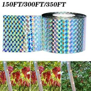 Bird Repellent Laser Reflect Tape Garden Deterrent Scare Double-sided Tapes New