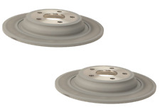 Pair Set of 2 Brembo Rear UV Coated Disc Brake Rotor For Ford Fusion Lincoln MKZ