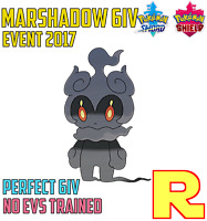 6IV EVENT MARSHADOW ⚔️ (+ITEM!) 🛡 for Pokemon SWORD & SHIELD ⚔️ Legit & Perfect