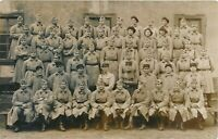 Lots of Soldiers Real Photo Postcard rppc