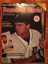 Baseball Cards Magazine April 1988 Matt Nokes Cover , With Bonus Cards
