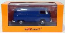 Articoli di modellismo statico furgoni blu marca MINICHAMPS
