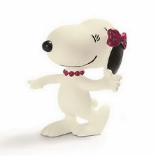 FIGURINE COLLECTION SNOOPY PEANUTS SCHLEICH 22004 GERMANY SNOOPY BELLE NEUVE