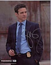 Warehouse 13 8x10 Autographed Photo Eddie McClintock/Pete Lattimer (Ebau-1459)