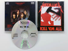 METALLICA KILL EM ALL MUSIC FOR NATIONS CD