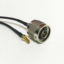 """CRC9 straight to N type male cable adapter RG174 20cm 8"""" for 3G USB modem"""