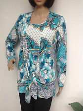 Twinset  JUDITH WILLIAMS 2tlg Cardigan/Top  Jade Gr.38 / 40