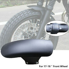"Motorcycle Cafe Racer 17""-18"" Front Wheel Fender Splash Mud Dust Guard Mudguard"